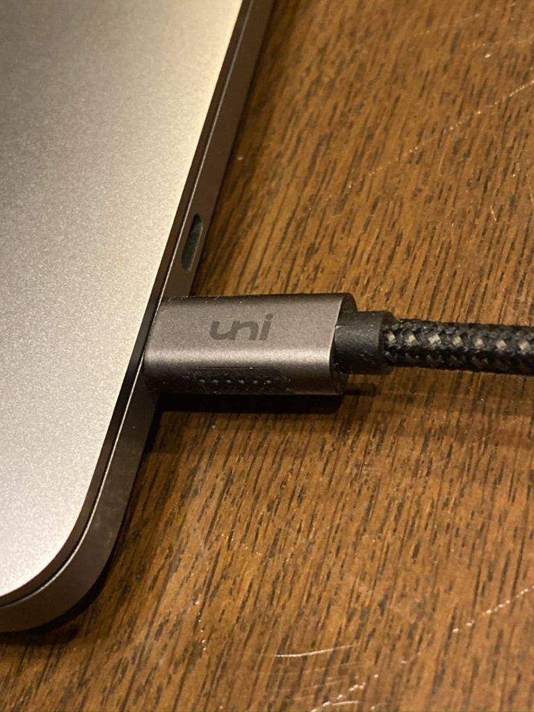 uni USB Type C Displayport 変換ケーブル