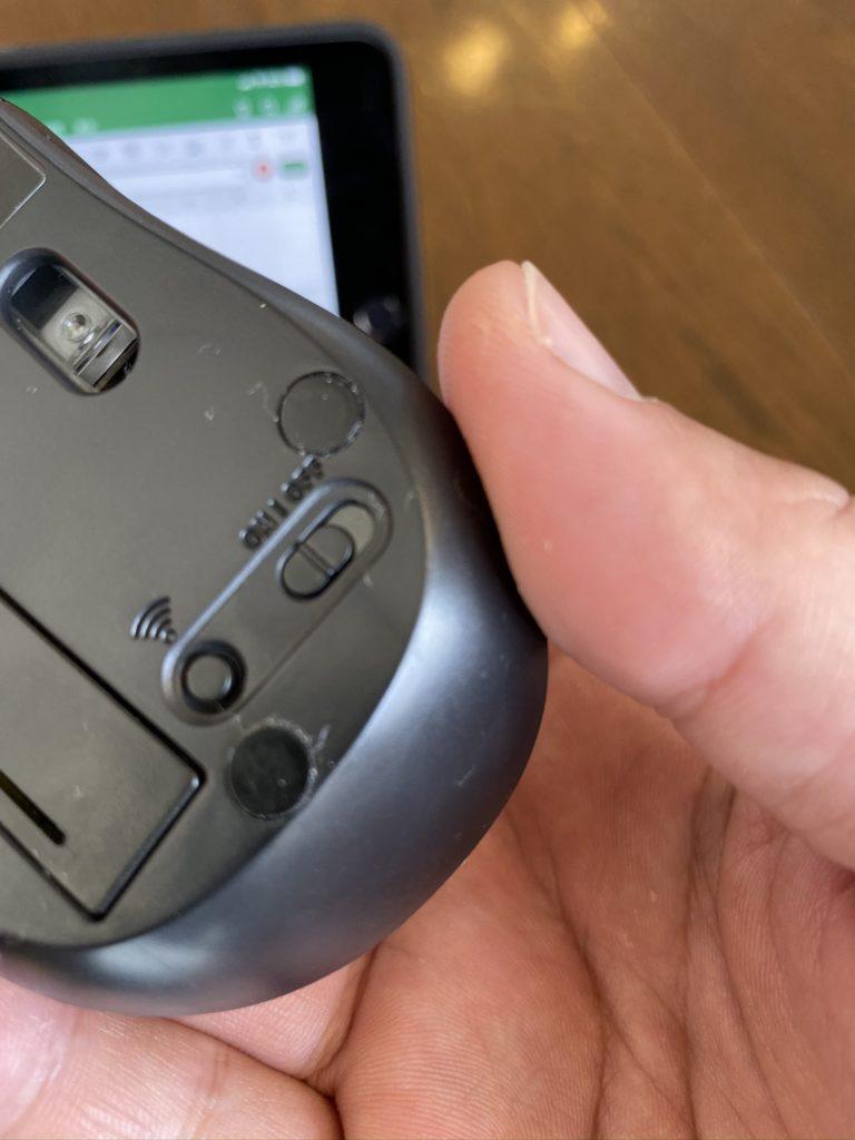 iPad用のマウス エレコム